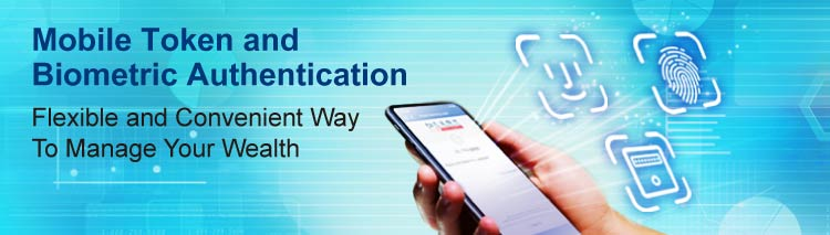 Mobile Token and Biometric Authentication